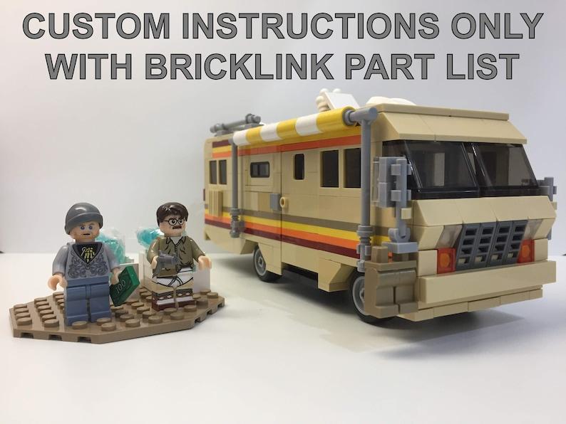 Breaking Bad RV - The Krystal Ship Van - LEGO MOC Instructions and Digital  Model only