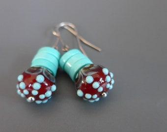 Earrings-Sea urchin-KAZE