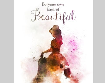 Belle Quote Etsy