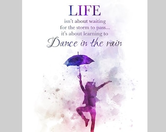 Dance In The Rain Etsy