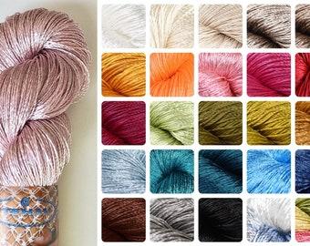 Viscose silk yarn,Silk yarn,Thin Yarn,Rayon silk yarn,Shiny yarn,Lace weight yarn,Embrodery thread,Jewellery yarn,Tassel cord,Soft yarn