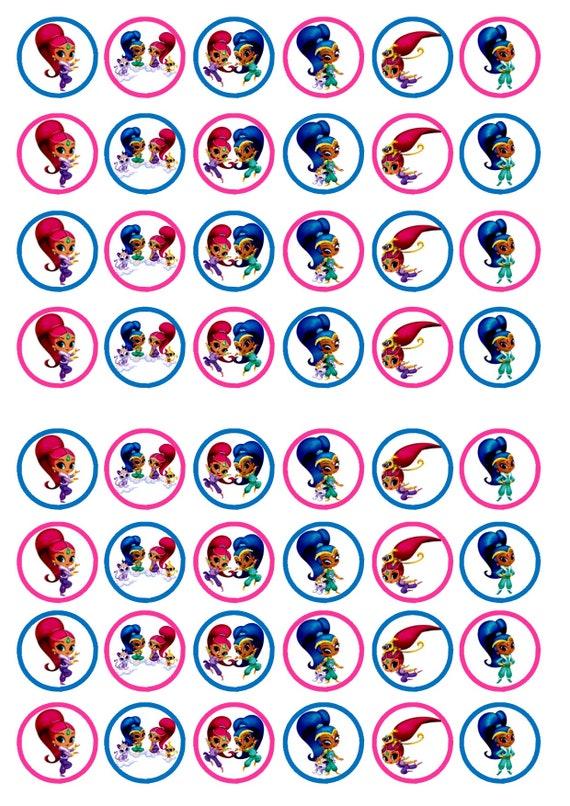 24 bébé fille chaussures Cupcake Topper plaquette Riz Comestibles Fairy Cake Toppers
