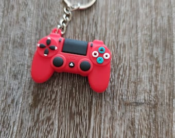 Playstation game controller play station Keychain key Retro Gaming  USA NEW