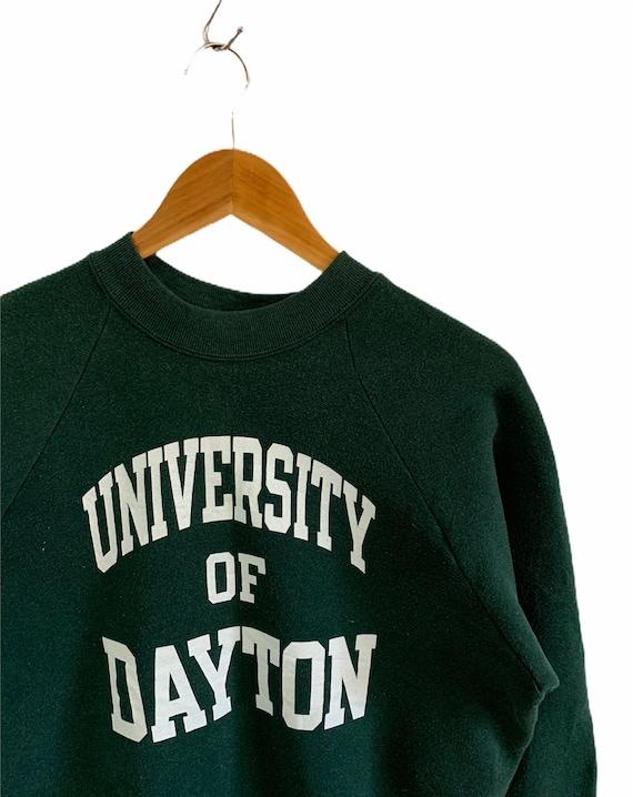 vintage 90s university of dayton fruit of the loom