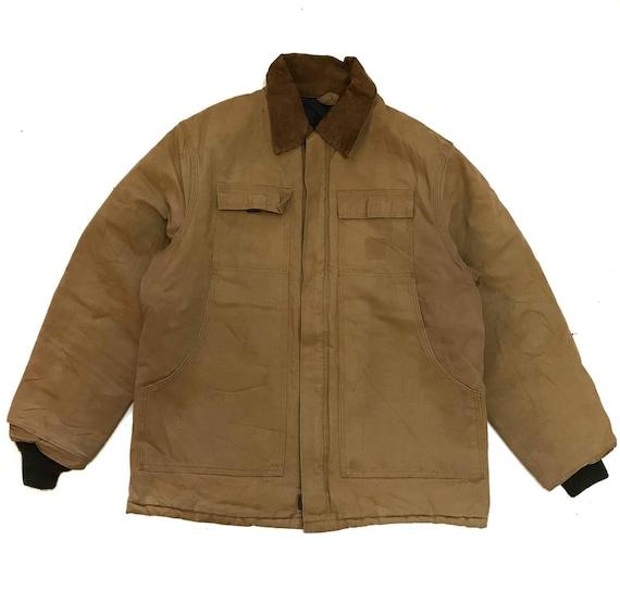 Vintage carhartt jacket chore double breast