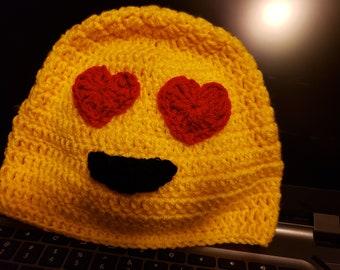 697ef3700d3 Crochet emoji hat
