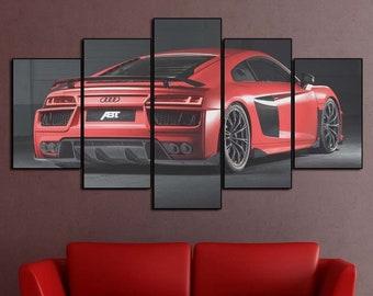 Audi wall art   Etsy