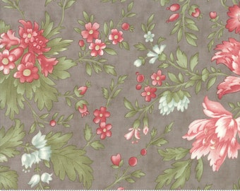 In Stock and Ships Today Sold by the Yard and Cut Continuous by 3 Sisters for Moda Fabrics Rue 1800 Cecille Porcelain