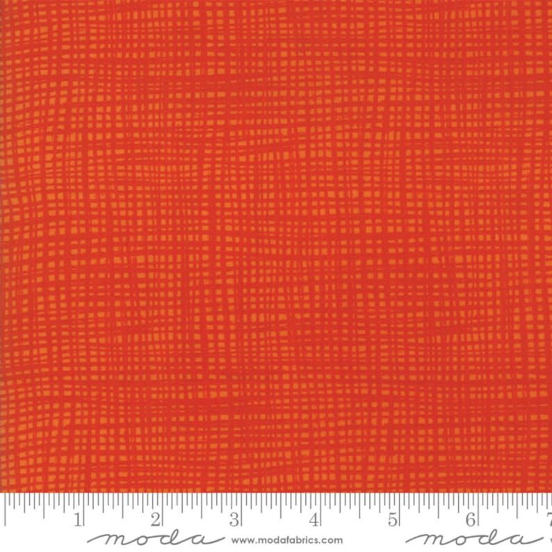 Moda Later Alligator In Stock and Ships Today Sold by the Yard and Cut Continuous Texture Red by Sandy Gervais