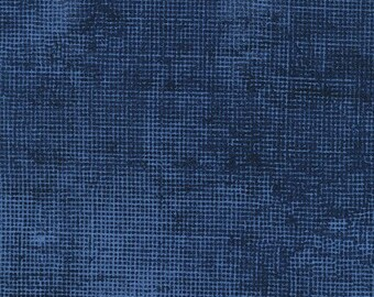 Chalk & Charcoal - Navy - By Jennifer Sampou For Robert Kaufman Fabrics  - Sold By The Yard Cut Continuous - Ships Today