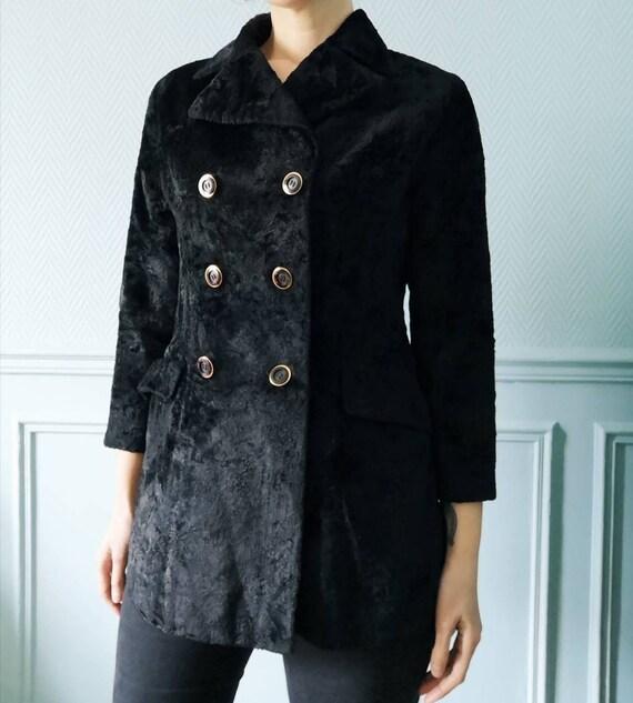 60's Japanese Velvet Coat