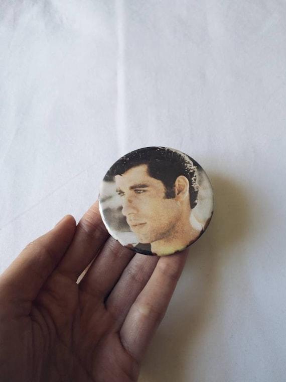 70's John Travolta / Danny Zuko / Grease Badge
