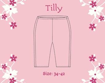 photo regarding Printable Shorts Pattern referred to as Lycra shorts habit Etsy