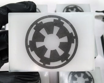 Imperial Soap! - Scented Star Wars Faction Symbol Glycerin Soap for Kids, Adults, and Darth Vader