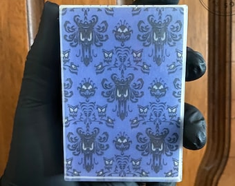 Haunted Mansion Soap! - Scented Haunted Mansion Ride Wallpaper Pattern Glycerin Soap for Foolish Mortal Disney and Horror Fans