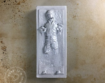 Carbonite Han Solo Soap! - Star Wars / Mandalorian Themed Handmade Shea Butter and Glycerin Hand Soap