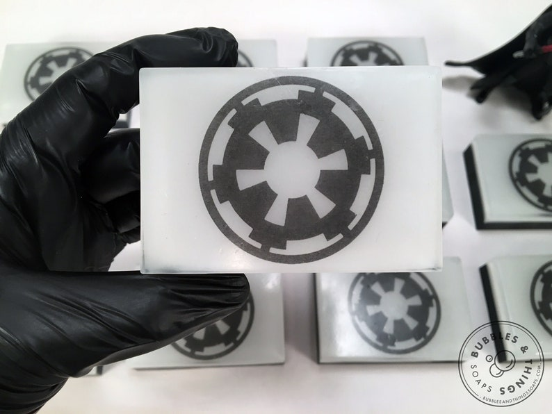 Imperial Soap  Faction Symbol Glycerin Soap for all ages image 0