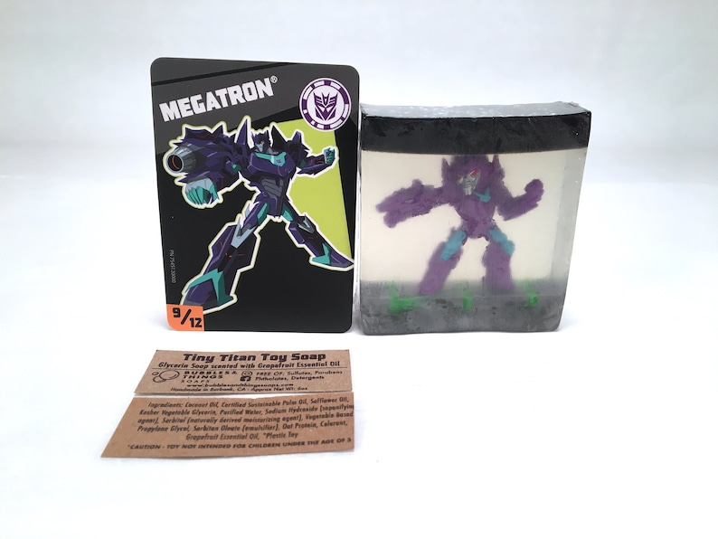 Robot Toy Soap  Glycerin Soap Scented in Fragrance and image 0