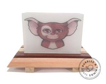 Gizmo Soap! - 1980s Horror Movie Gremlins Inspired Scented Glycerin Soap for Horror Fans
