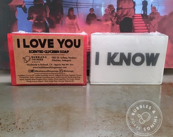 I Love You, I Know Soap! - Scented Star Wars Glycerin Soap for Kids, Adults, and  Rebels in Love