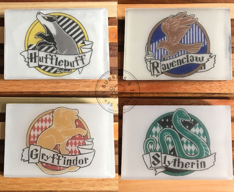 Wizard House Crest Soap  Glycerin Soap For All Ages image 0
