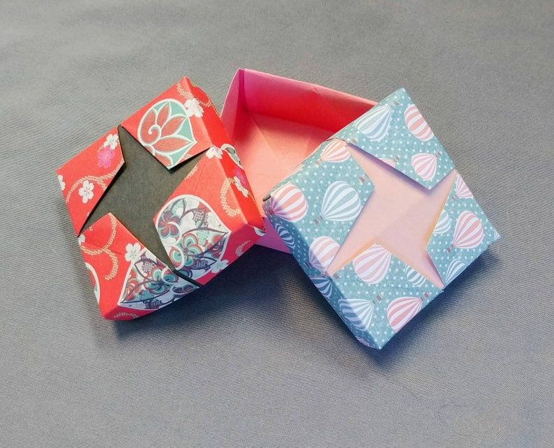 Christmas Gift Boxes Origami hexagon box Jewelry Box gift box with ... | 642x794