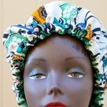 Silk Lining Ankara Bonnet