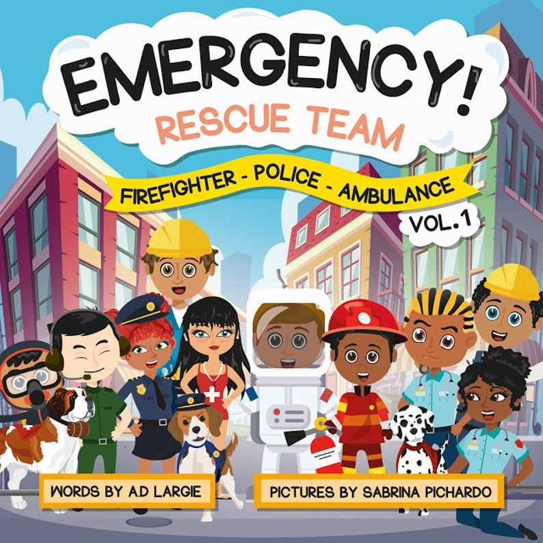 Emergency Rescue Teams: Firefighter Police Ambulance image 0