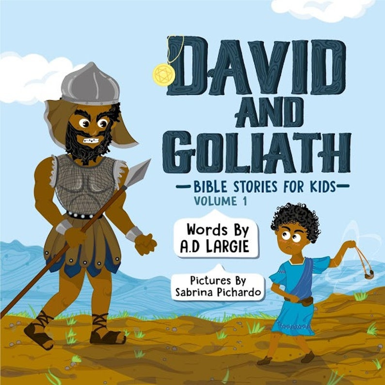 David and Goliath: Bible Stories for Kids image 0