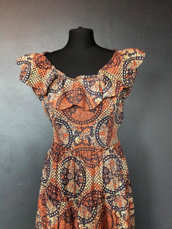 1940s Susan small tiki dress - image 5