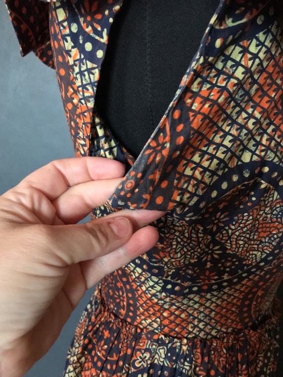 1940s Susan small tiki dress - image 7