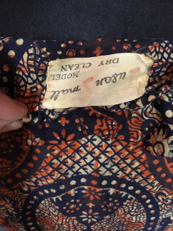 1940s Susan small tiki dress - image 6