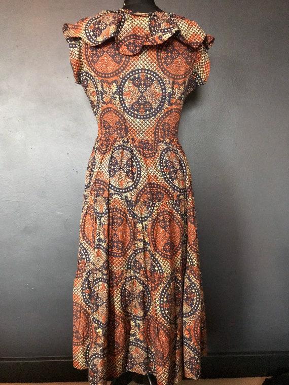 1940s Susan small tiki dress - image 4