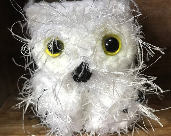 Snowy Baby Owl Amigurumi Free Crochet Pattern   540x680