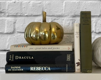 Dracula, Rebecca, Memoirs of My Dead Life, Tales of Mystery and Imagination, Edgar Allan Poe, Daphne DuMaurier, Bram Stoker, Free Shipping