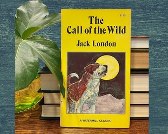 The Call of the Wild, Jack London, Watermill Classic, 1980, Paperback, Free Shipping