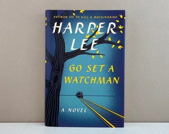 1st Edition Go Set a Watchman, Includes Clippings from Newspapers about Book and Author, Harper Lee, Free Shipping
