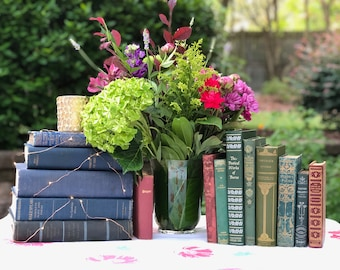 Customized Bookish Wedding Theme Consultation, Books for Wedding, Consultation for Curated Book Decor
