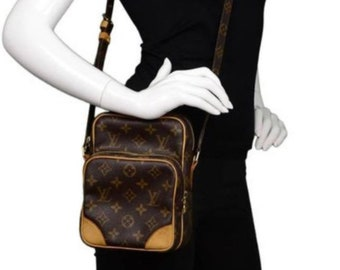 a1095b2257 Authentic Louis Vuitton Amazon Crossbody Bag