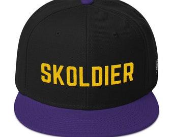 c1b0fa2fe9e Skoldier Minnesota Vikings NFL Snapback Hat