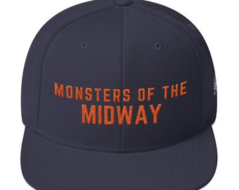 d01ba1c29f74d Monsters of the Midway Chicago Bears NFL Snapback Hat