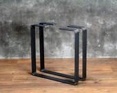 Steel Coffee Table Legs, Metal Bench Legs, DIY table legs, Industrial (Pair)