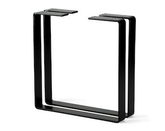 2 x Steel Coffee Table Legs, Metal Bench Legs, DIY table legs, Industrial