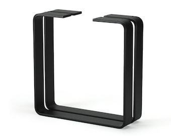 Steel Coffee Table Legs, Metal Table Legs, Bench Legs, Heavy Duty Set of 2