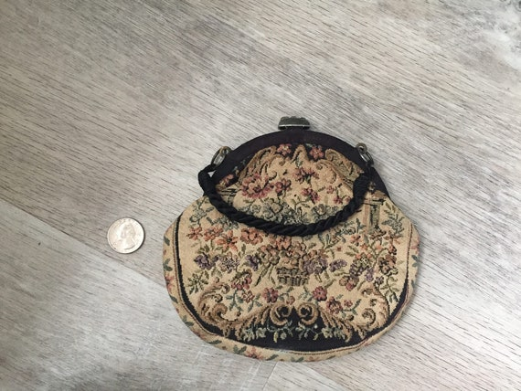 Tapestry Clutch Purse - VINTAGE