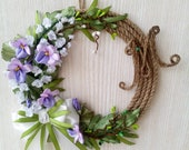 Spring Wreath on the Wall...