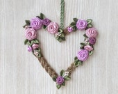 Heart Decor, Flower Heart...