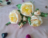 Fake Flowers, Ivory Roses...