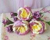 Purple Ivory Rose, Fake R...