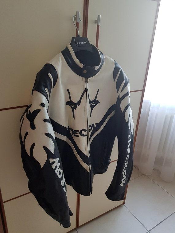 The Crow Motorcycle Racing Leather Jacket